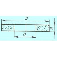 Круг ПП 350х 40х127 64С 16 СТ2  (GC F80 P) (ВАЗ)