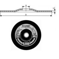 Круг Зачистной армированный 230х 6х22 ПП 14А по металлу (Луга) тип 27