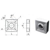 Пластина SNUM  - 090308  Т15К6(YT15) квадратная dвн=4мм (03114)  со стружколомом