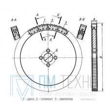 Пила дисковая сегментная  710мм, Z= 96 Р6М5