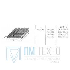 Плита Прямоугольная 180х150х30 с Т-образными пазами 8мм (7081-0361) ГОСТ14370-69 (восстановленная)