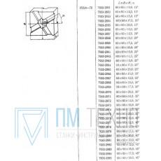 Подкладка квадратная 60х60х15,0 с косыми пазами 12мм 25°(7033-2963) ГОСТ15224-70 (восстановленная)