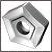 Пластина PNUM  - 110408  МС2210 пятигранная dвн=6мм (10114) со стружколомом