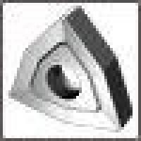 Пластина WNUM - 100412  ВК8(YG8) трёхгранная ломаная dвн=6мм (02114) со стружколомом