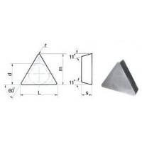 Пластина TРGN  - 160308  Т5К10(YT5) трехгранная (01331) гладкая без отверстия