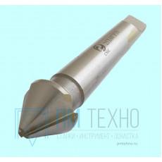 Зенковка d16,0х 24х 90 конус  60° Р18 к/х Z=3 КМ1 DIN334D