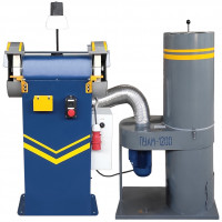 Станок точильно-шлифовальный ТШ-2РБ-П (с пылесосом и блокировкой)